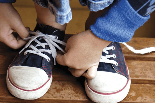 What I Learned Learning to Tie My Shoes at 41
