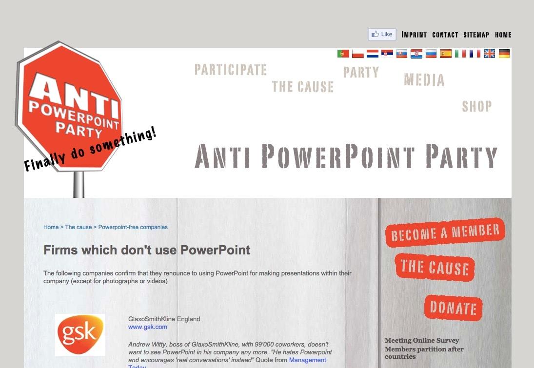 Switzerland…. Not so neutral on PowerPoint