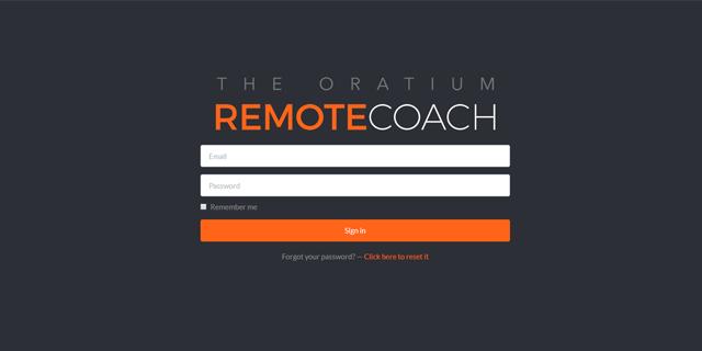 Remote Coach